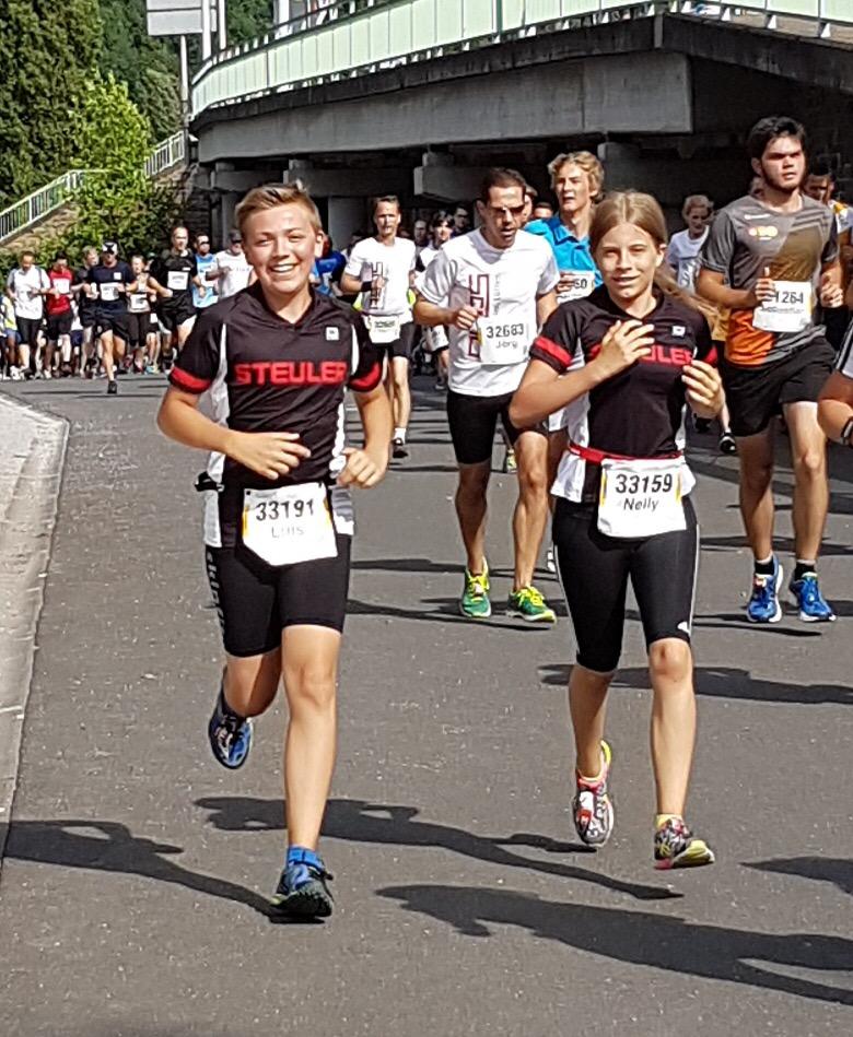 Steuler Trikids Beim Münz Firmenlauf 2017