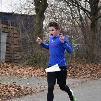Julius Laudagè gewinnt beim Swim & Run in Darmstadt