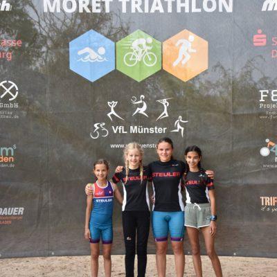 STEULER TRIKids beim Moret-Triathlon in Babenhausen